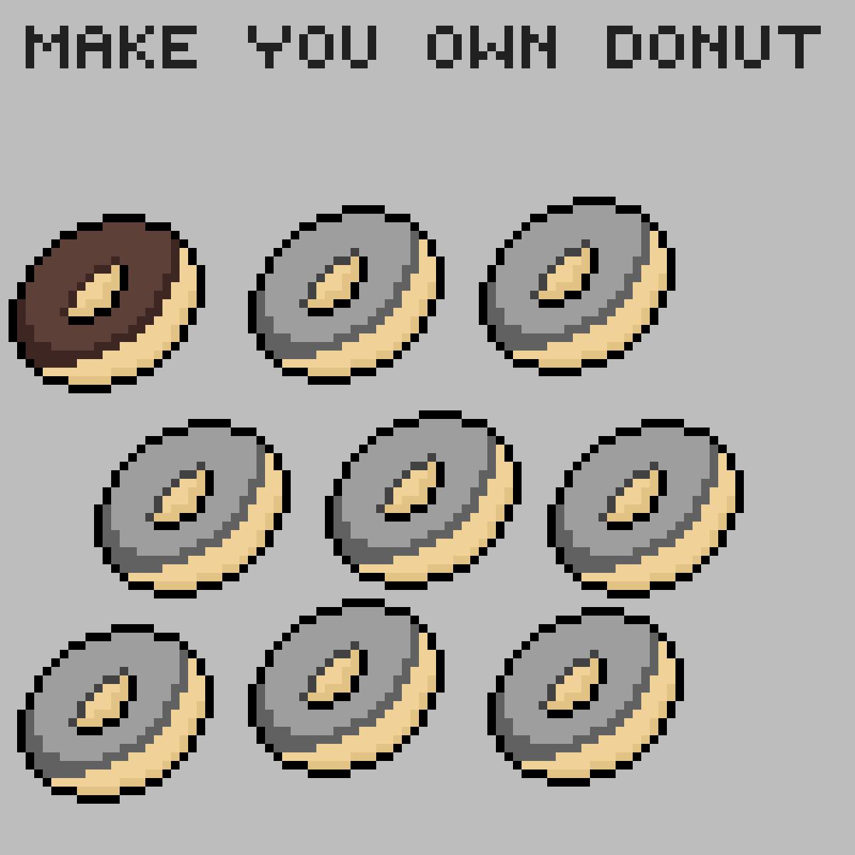 hey donut make you own donut by tasya-paramitha