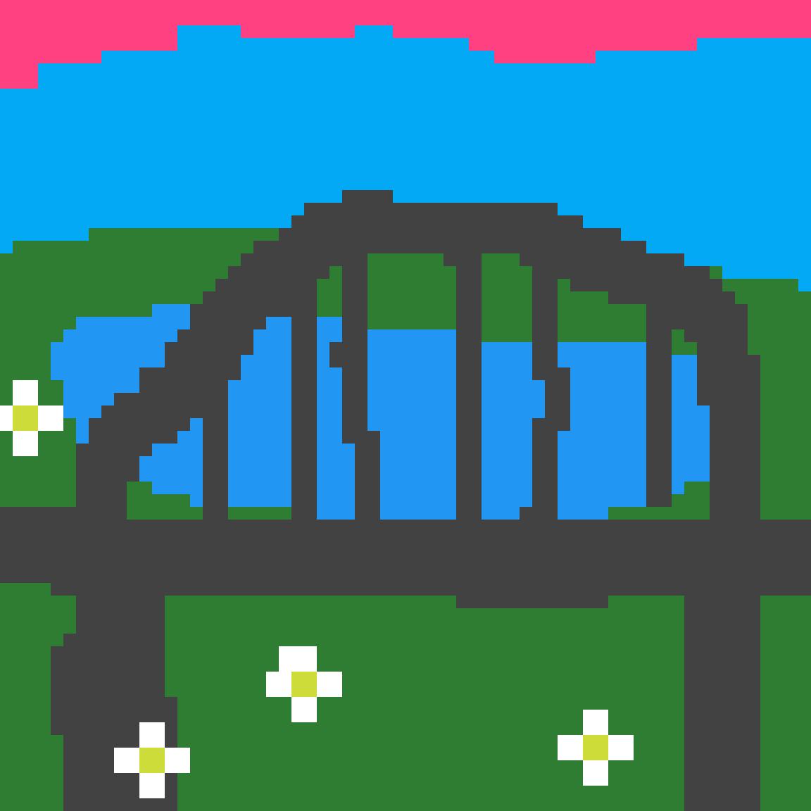a bridge by MilesMoralesSM