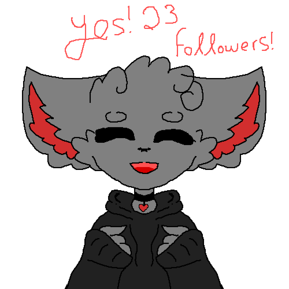 Yes! 23 followers! by Spiritbelly2