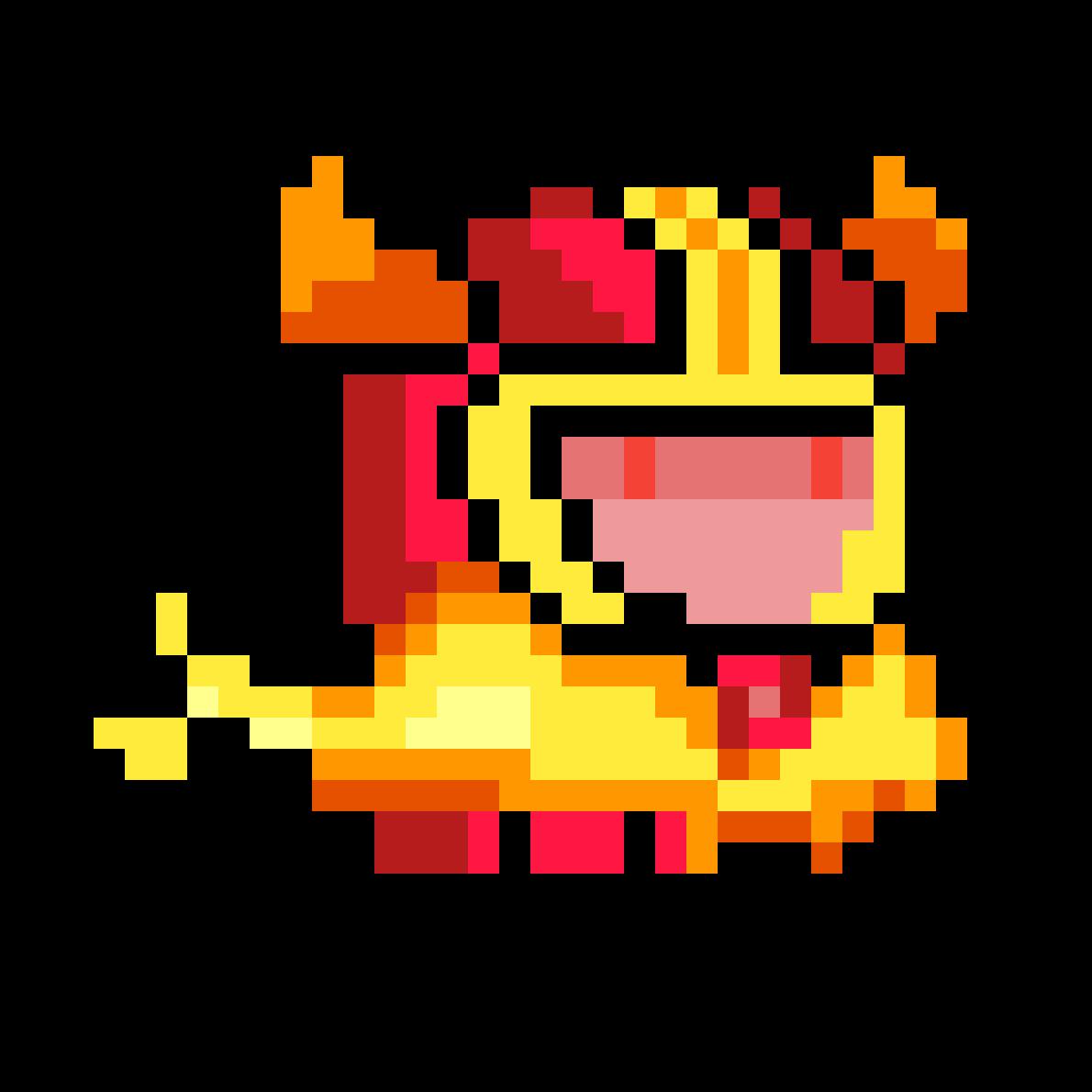 Fire Knight (Soul Knight) by JbezoarJr