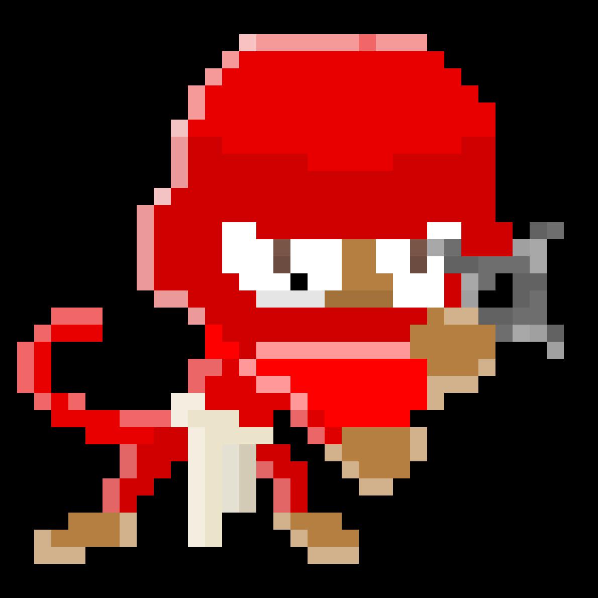 Ninja Monkey by TheBeanArts
