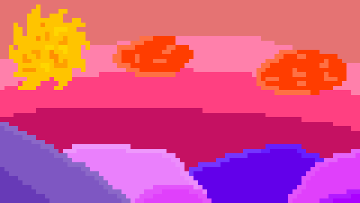 sunset by Cryptocratic
