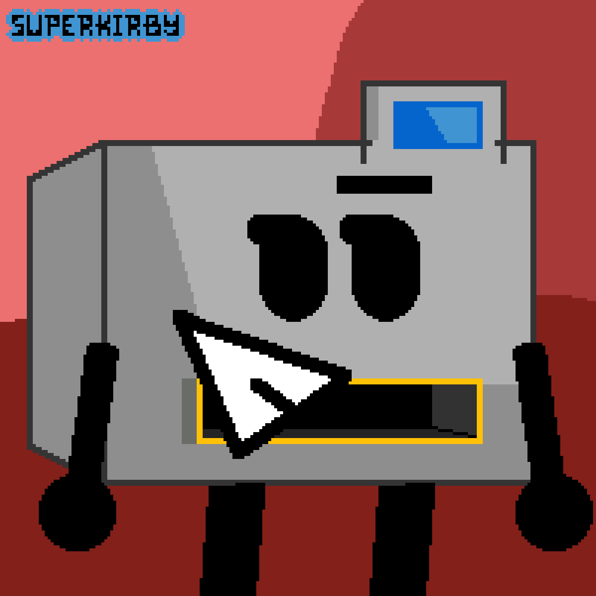 [Object Terror] Printer by SuperKirby