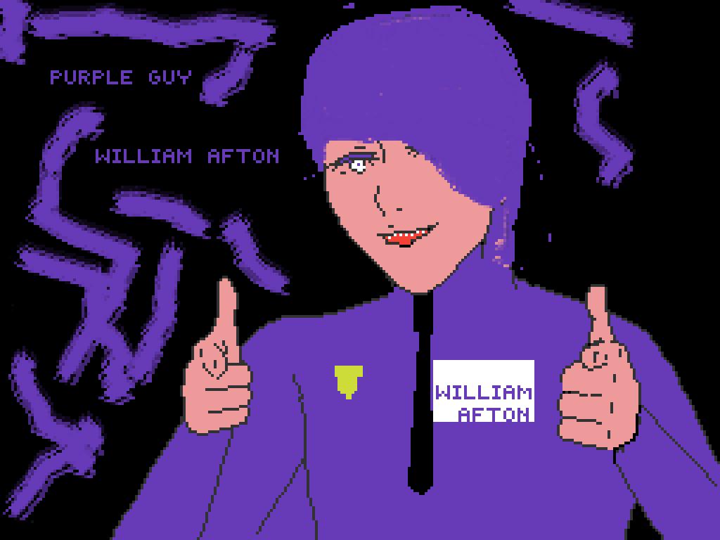 Pixilart Purple Guy By Anonymous