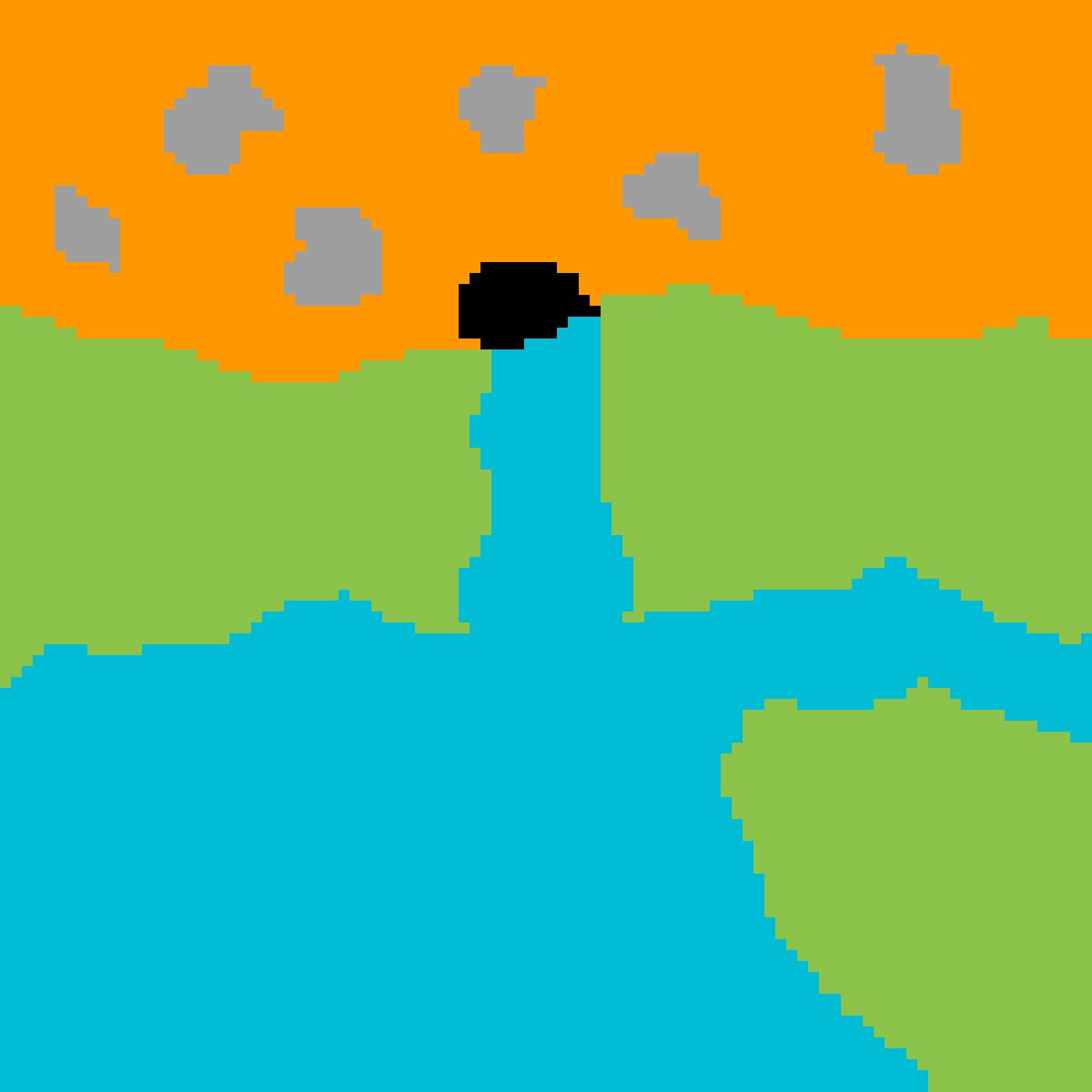 Lava VS Sea by AbbeWorld