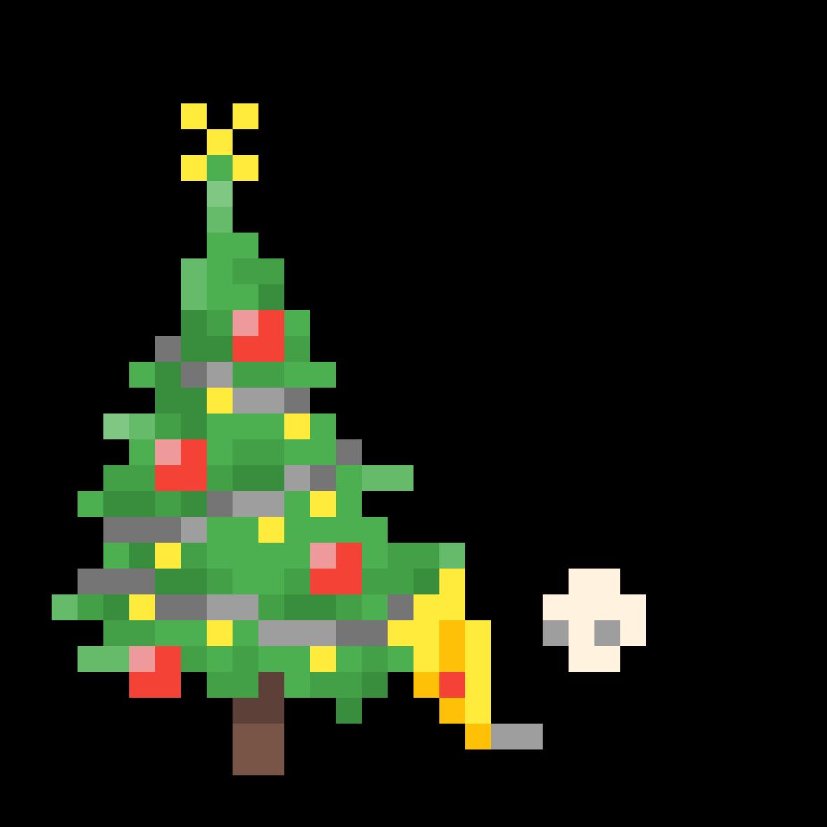 Celebrating christmas by milkingtheshake