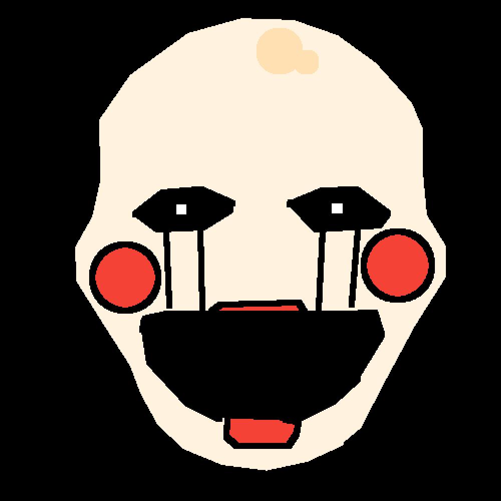 fnaf2 puppet by XxjeffyxX12