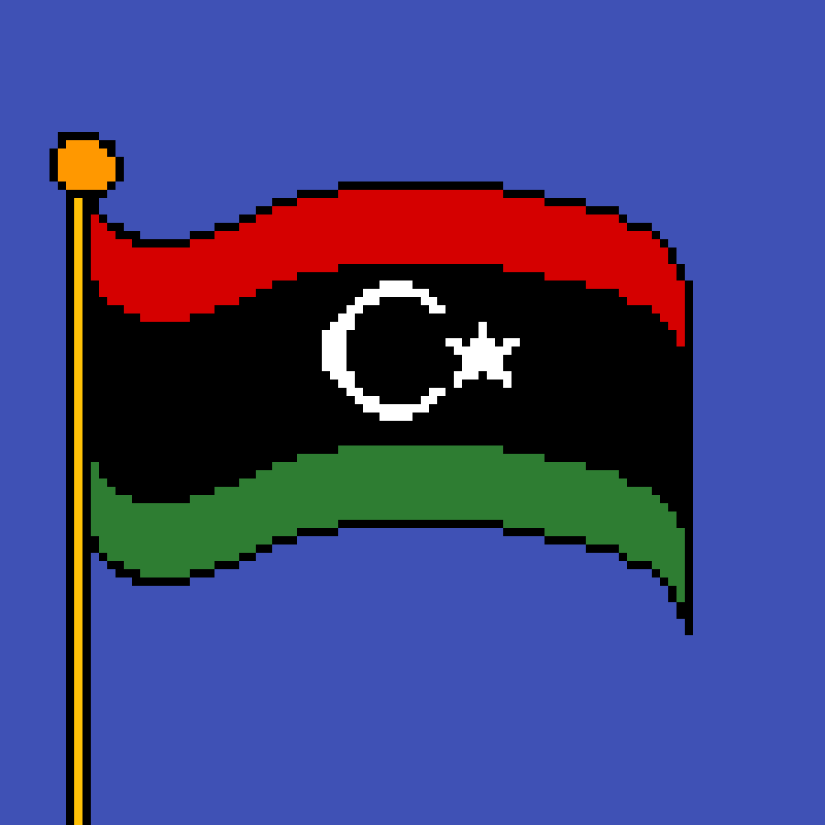main-image-The flag of Libya  by poison-darts317