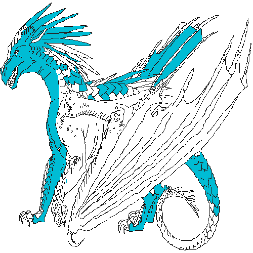 Frost the Icewing (WOF oc) by serenitystar