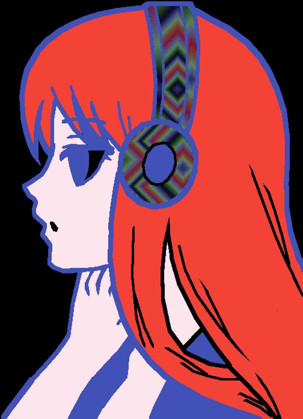 weird pretty girl
