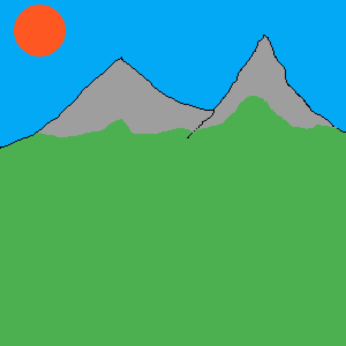 Crappy scenary by Lava-Anaconda