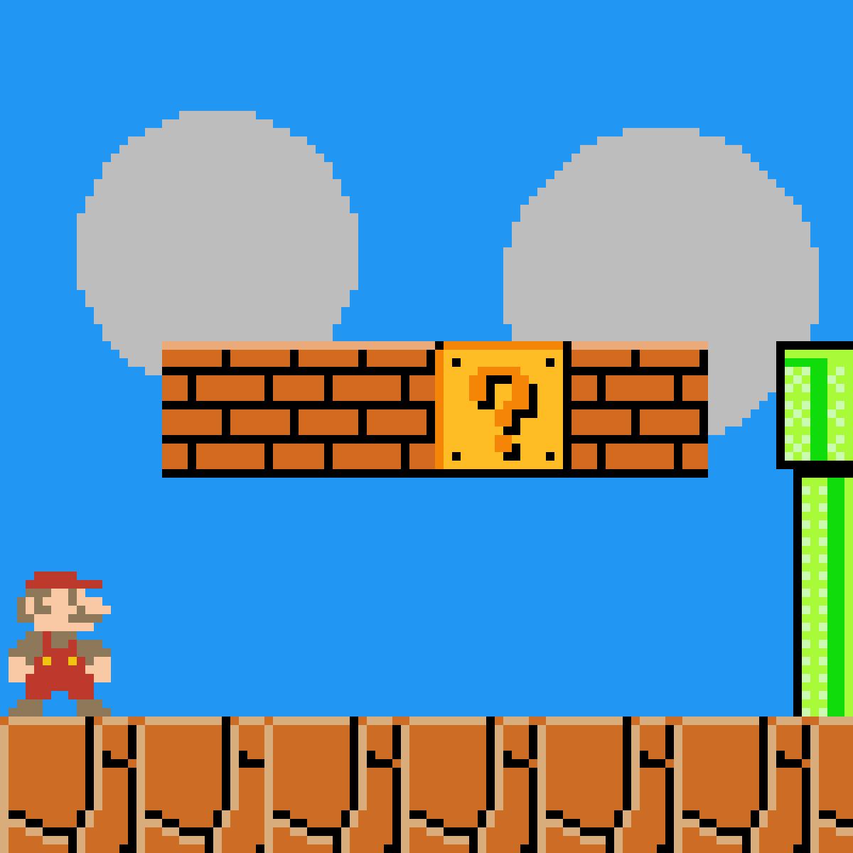 Mario by ToxicgamerYT