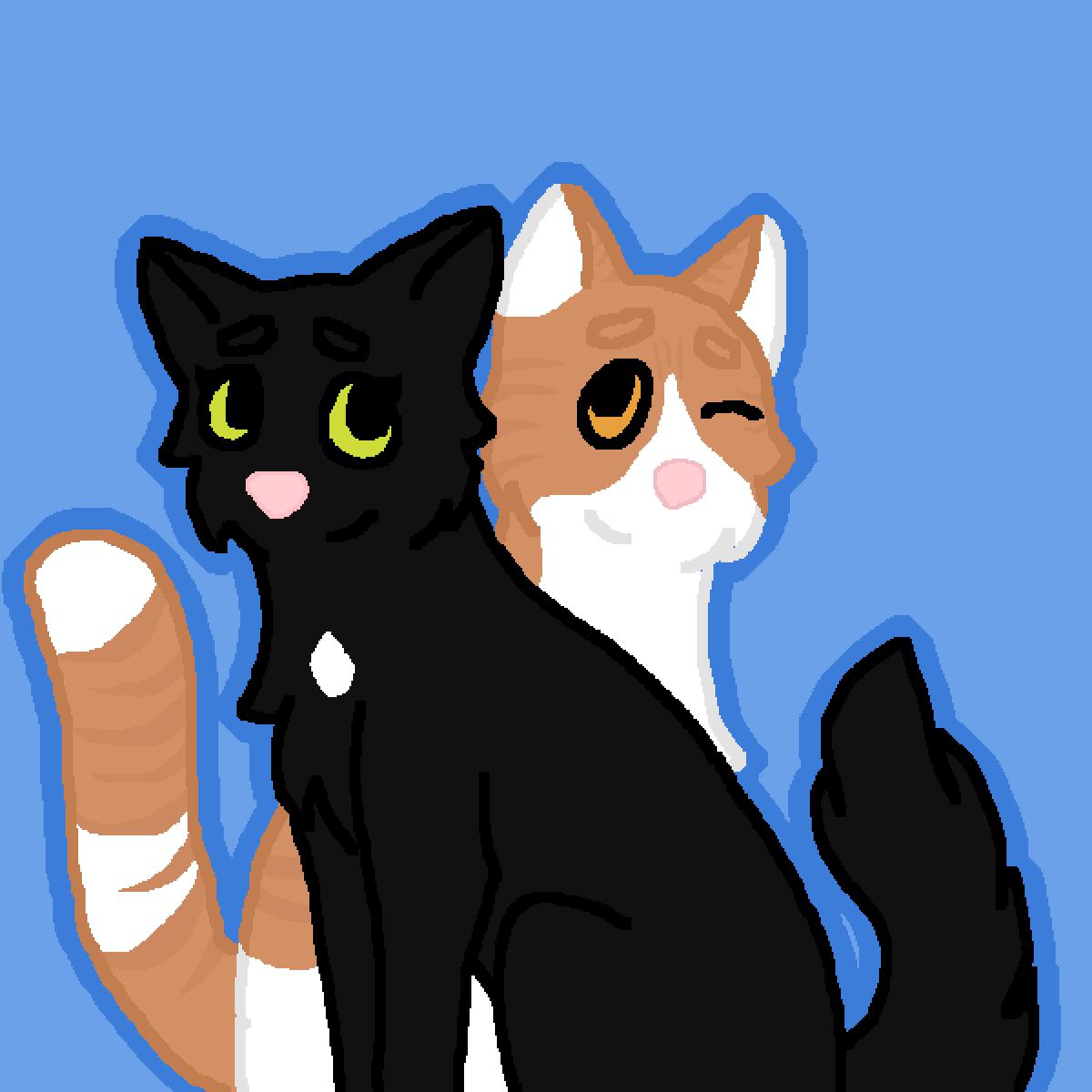 Barney and Roxer by Ahsoka838