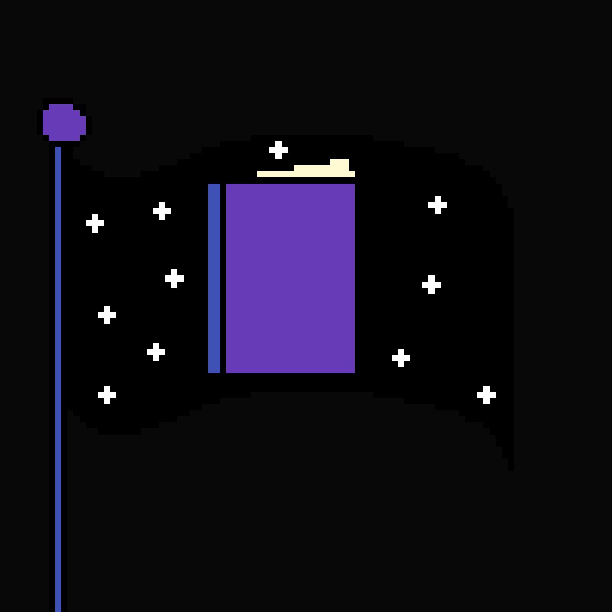 fandom flag by shadowthecato06
