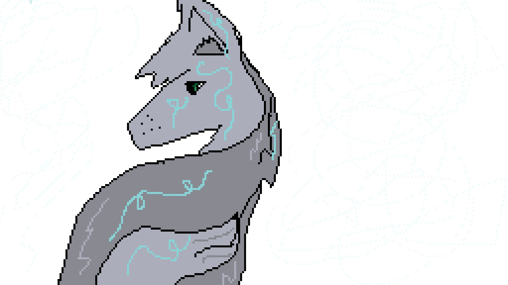 Anime Wolf (for Contest)