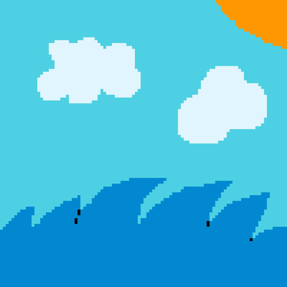 ocean by leylonie