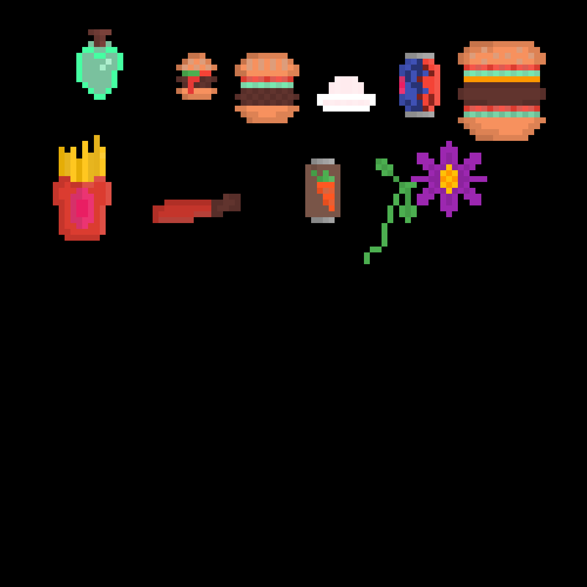 main-image-Earthbound Fangame Healing Items  by LolbitTime