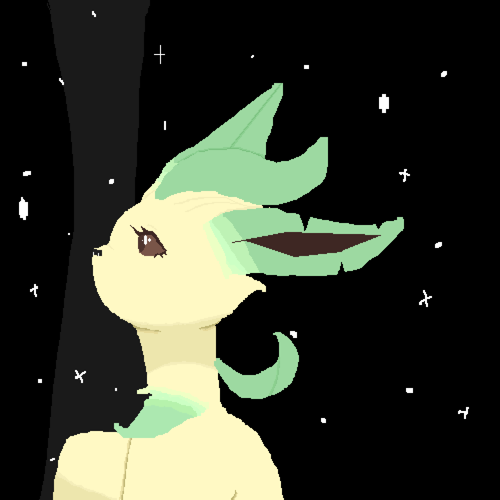 Leafeon by kimii