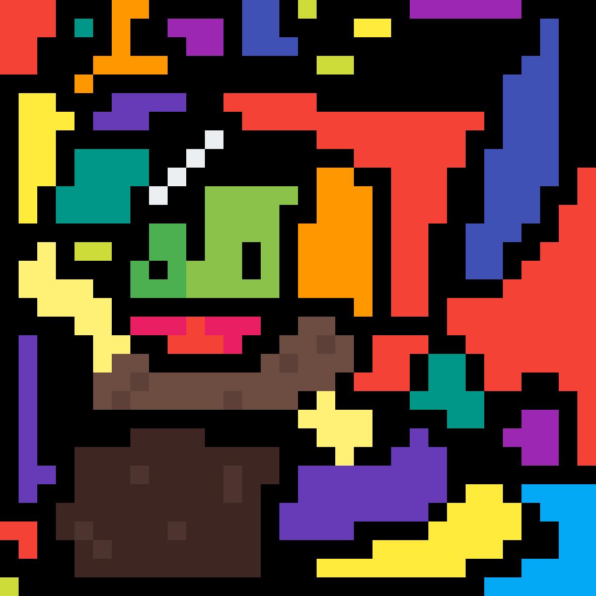 Pixl Frog by willbert03