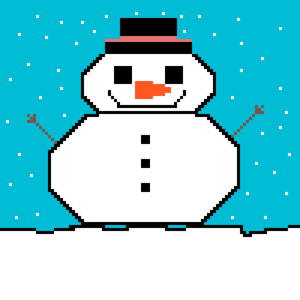 Smowman Snowfall