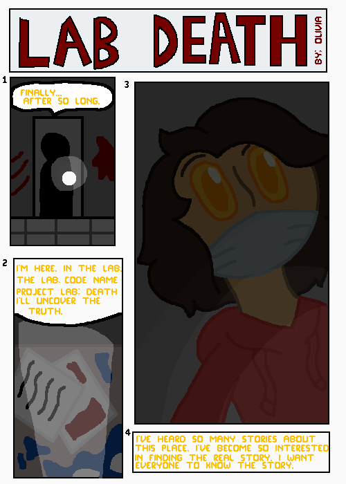 Page 1 of Lab Death