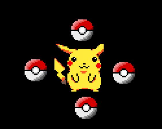 All Pokémon in pixilart