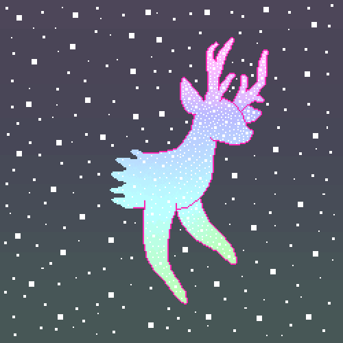 Aurora Deer