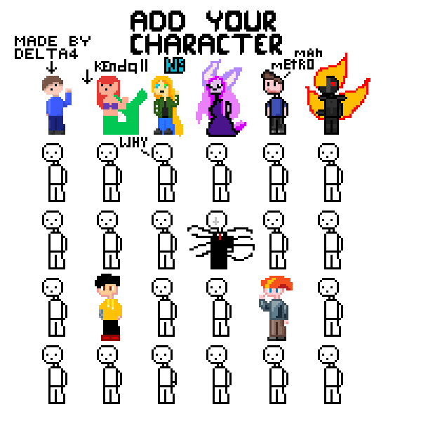 Add your Character