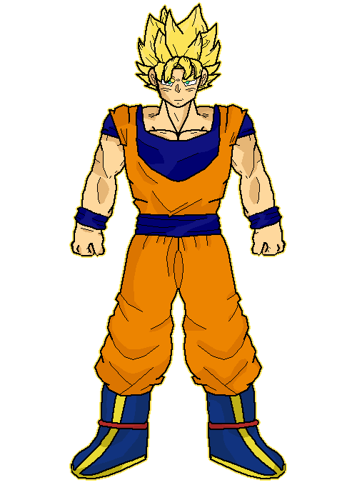 Son Goku (Super Saiyan Transformation)