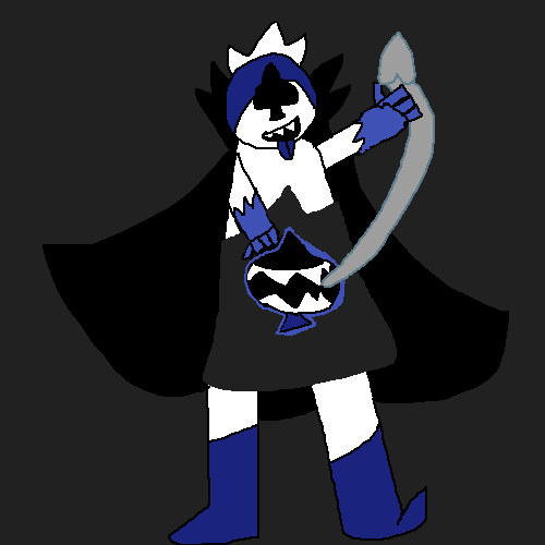 Kneel and learn your place! *Redraw!*
