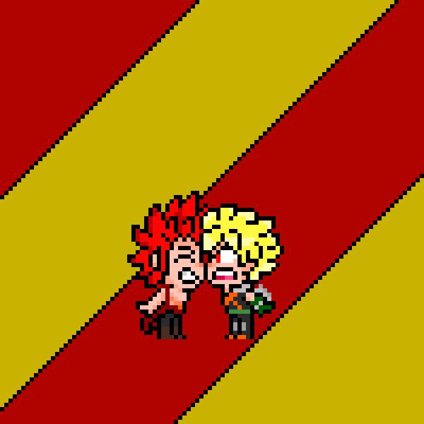 Bakugo x Kirishima
