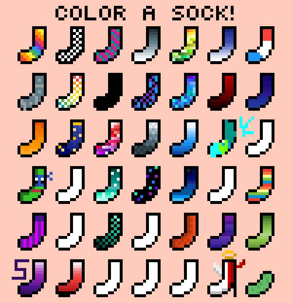 The Devil Angle Sock