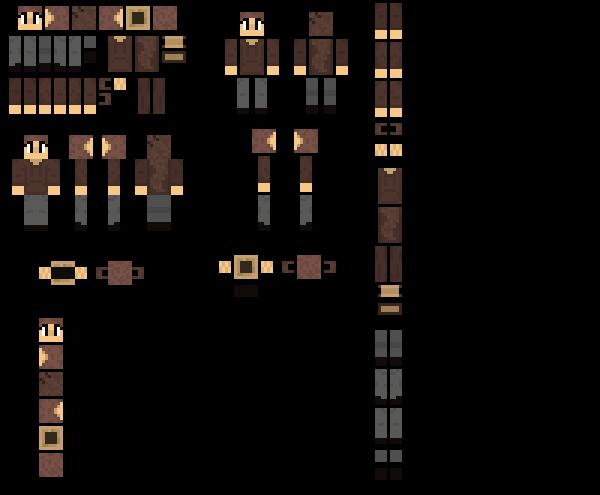 [Cookietale] Cookie Minecraft Skin??