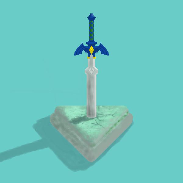 Master Sword in Stone