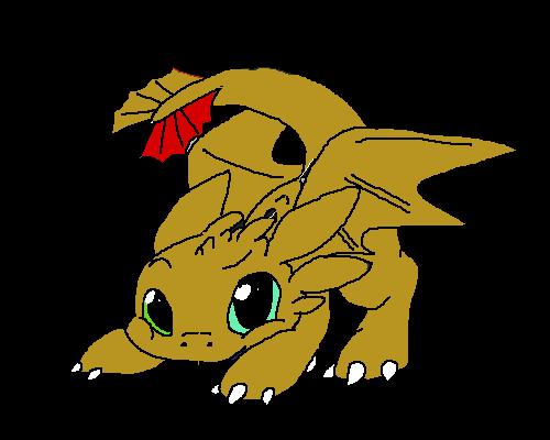 Golden Toothless