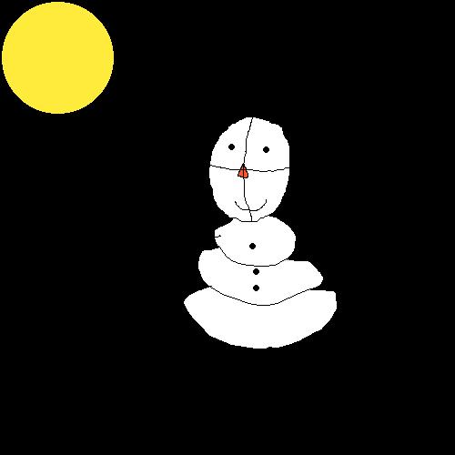 Dapper-ish snowman