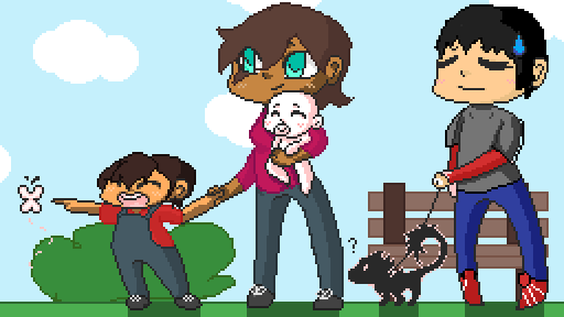 Pixel family collab again