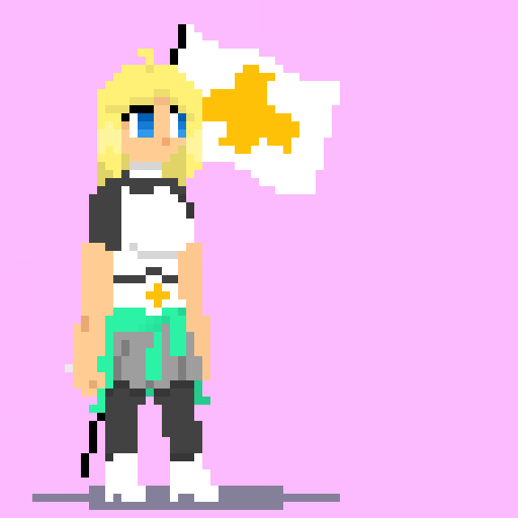 Sprite Idle Animation (Sasha)
