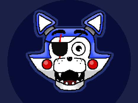 Candy with a EyePatch & Scar. (Fanmade)