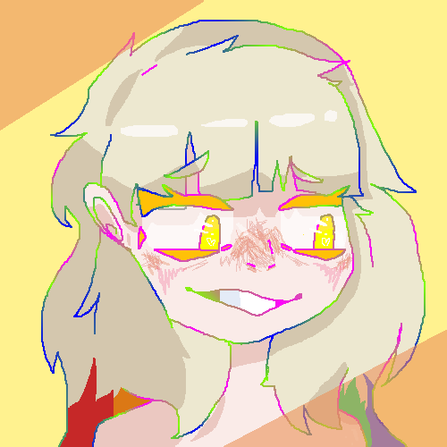 wanted to draw a mayu