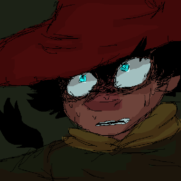 Mouse Drawing of Joxter