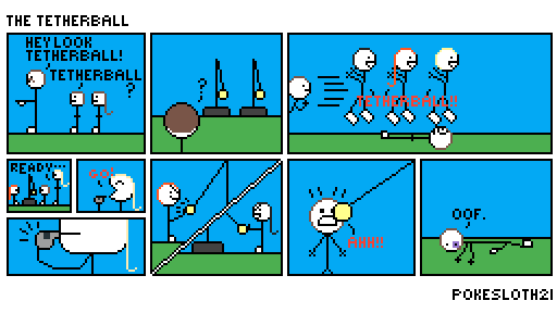 Comic: The Tetherball