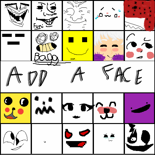 Mine is Gaster face