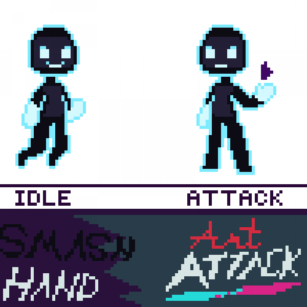 Updated Sprite for Smacc Hand