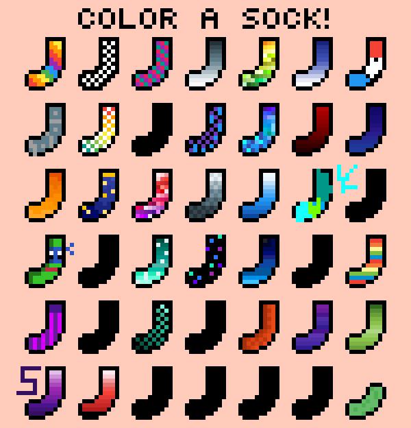 Colour A Sock
