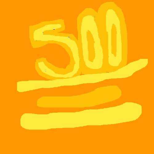 500 PEEPS 500 FOLLOWERS