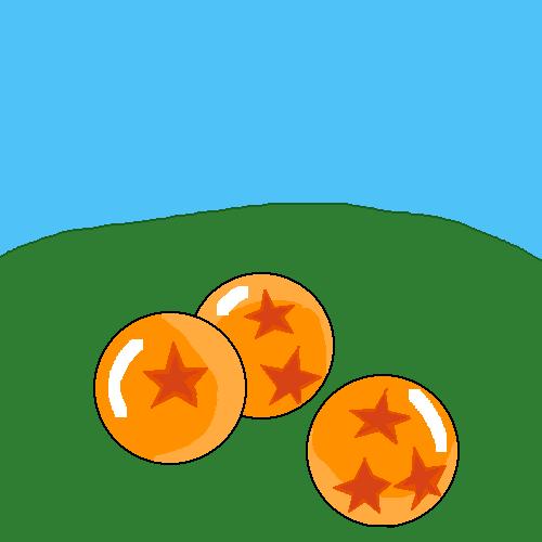 some dragon balls
