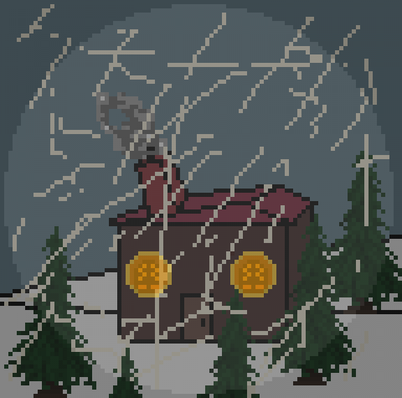 Snowy Shack