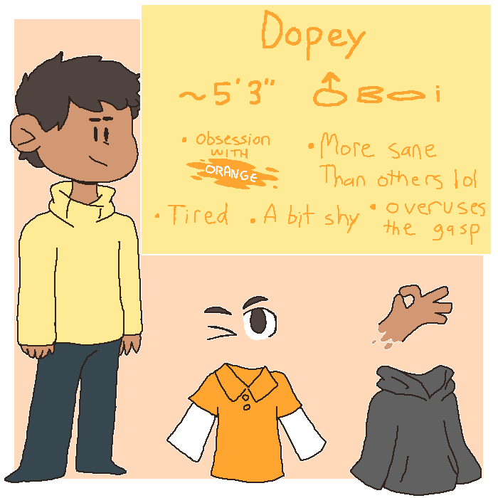 Ref Sheet for Dopamine Lad