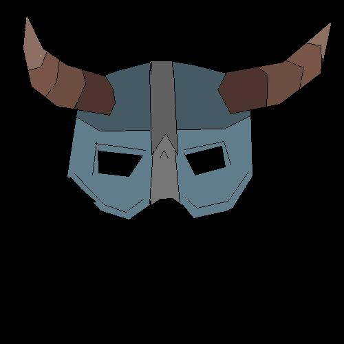 SKYRIM Dragonborn helmet